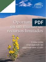 Ctc828 Oportunidades en Un Mundo de Recursos Limitados