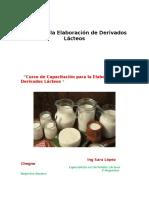 Guia de Elaboracion de Derivados Lacteos - Cartilla de Difusion