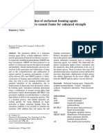 Competitive adsorption of surfactant foaming agents to nanoclays added to cement foams for enhanced strength.pdf