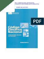 Codigo Eléctrico Nacional