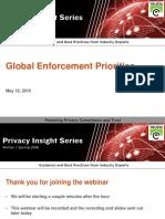 Global Privacy Enforcement Priorities | Webinar from TRUSTe