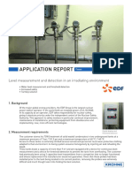 Application Report Level Measurement and Detection in an Irradi (English)