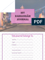 Ramadhān Journal Girls