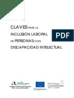 Claves para la inclusión laboral de personas con DI