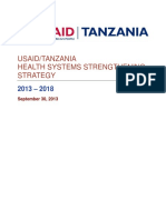 Usaid Tz Hss Strategy Sept 30 Final