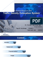 Traffic Congestion Estimator