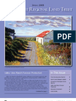 North Coast Regional Land Trust Newsletter, Spring 2008