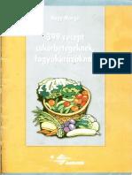 399 db Recept Fogyókúrázóknak