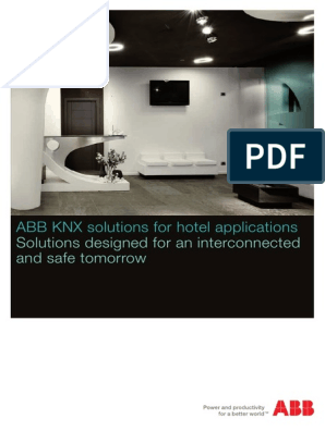 ABB KNX solutions for hotel applications: Solutions designed for an