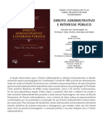 Direito Administrativo e Interesse Público