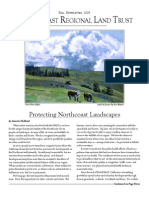 North Coast Regional Land Trust Newsletter, Fall 2003