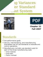 Module 10 Standard Costs