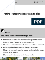 Active Transportation Strategic Plan presentation