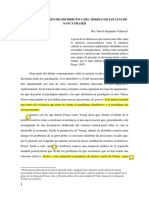 Una interpretaccion re-distributiva del modelo de estatus en N Fraser. de un chino de praxis.pdf