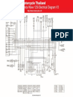 Honda Wave 125i Electrical Diagram V3
