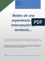Sistematización PSC Procesos Comunitarios