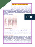 9. Sashti Pooja Vrat to Conceive a Child 1