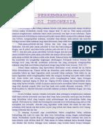 Sejarah Perkembangan Makanan Di Indonesia