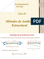 CLASE 5ta Método de Slope Deflection