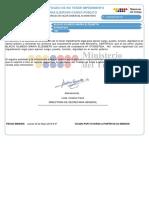 Certificado No Impedimento 0703827824