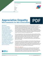 appreciative empathy