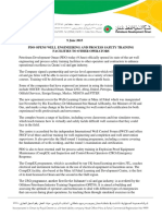 _PressReleaseFile_PDO OPENS WELL ENGINEERING AND PROCESS SAFETY TRAINING FACILITIES 9th May 2015201561011048