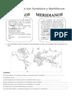 Guia de Paralelos y Meridianos