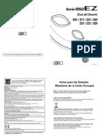Guía de Usuario RISO EZ2-EZ3