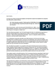 Joint Senate Letter on Tax Extenders, May 13 2014