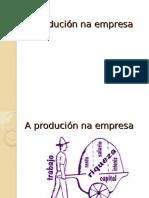 A producción na empresa