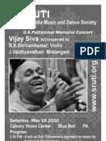 Vijay Siva Program Notes