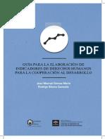 Guía Para La Elaboración de Indicadores de Derechos Humanos Para La Cooperación Al Desarrollo