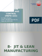 CHAPTER 8-JIT & Lean Manufacturing #