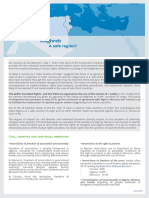 Factsheet Safe Country Maghreb En