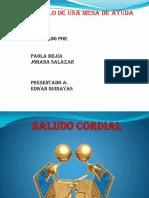 PROTOCOLO DE UNA MESA DE AYUDA