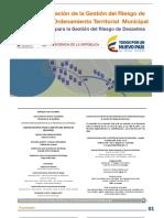 Guía Integración Gestión Riesgo Ordenamiento Territorioal Octubre2015
