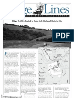 Ridge Lines Newsletter, Summer-Fall 2007 ~ Bay Area Ridge Trail Council