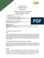 Correcciones Esquema Informe Final Cuantitativo