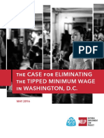 The Case for Eliminating the Tipped Minimum Wage in DC