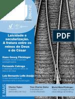 IHU ESPECIAL LAICIDADE E SECULARIZAÇÃO.pdf