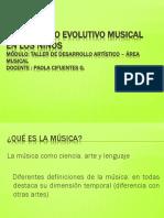Desarrollo Evolutivo de la Música