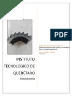Instituto Tecnologico de Queretaro Practica Ferrosos