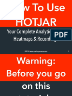 How To Use Hotjar Heatmaps And Recordings To Understand Your Site Visitors
