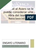 PPT del Ensayo literario