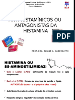 Anti-histamínicos - Prof. Eliane