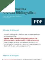 Aula 3_dicas Para Escrever a Revisao Bibliografica