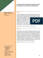 Qualidade nos processos de manutenção na aviação civil