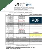 Cronograma de Disciplina 2015.2 Atual (1)