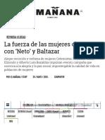 05-25-2016 La Fuerza de Las Mujeres Obreras Con 'Neto' y Baltazar