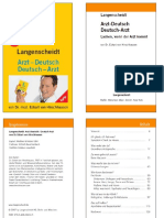 Langenscheidt Arzt DeutschDeutsch Arzt